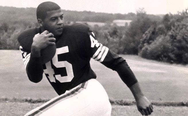 Cleveland Browns - Ernie Davis - Jersey Number 45 Retired