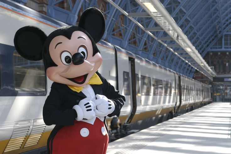 """Did you know that you can get to #Disneyland Paris via Eurostar train? The station is """"Marne-la-Vallee,"""" just outside of Paris."""