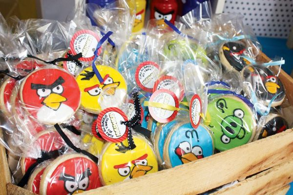 angry birds birthday party