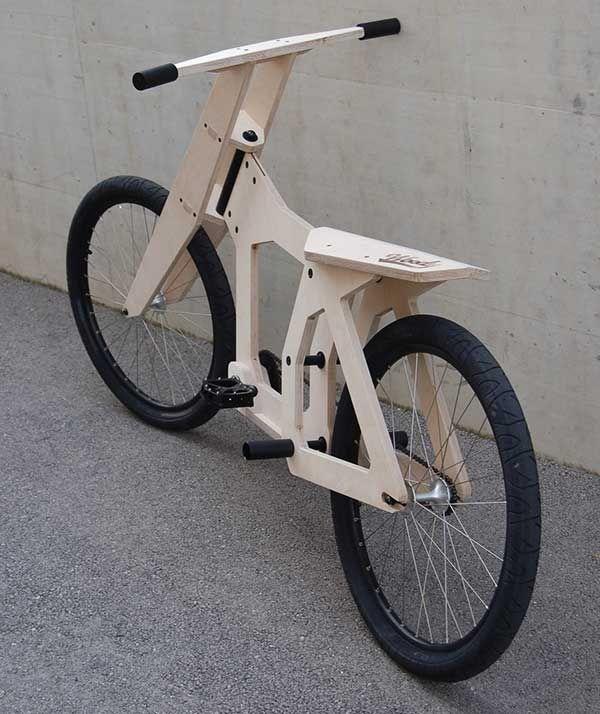 Woody, un vélo en bois pour les fablabs !