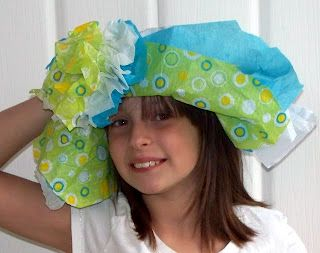 Kentucky Derby Tissue Paper Hat Craft Idea Or This One Susan