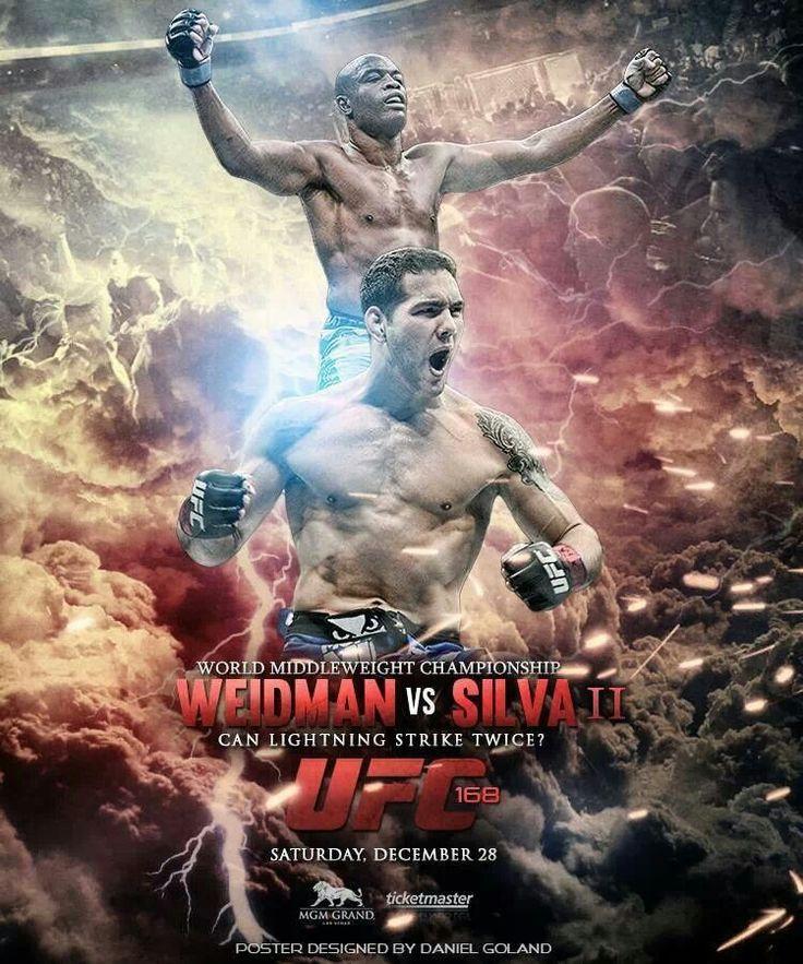UFC Silva vs Weidman