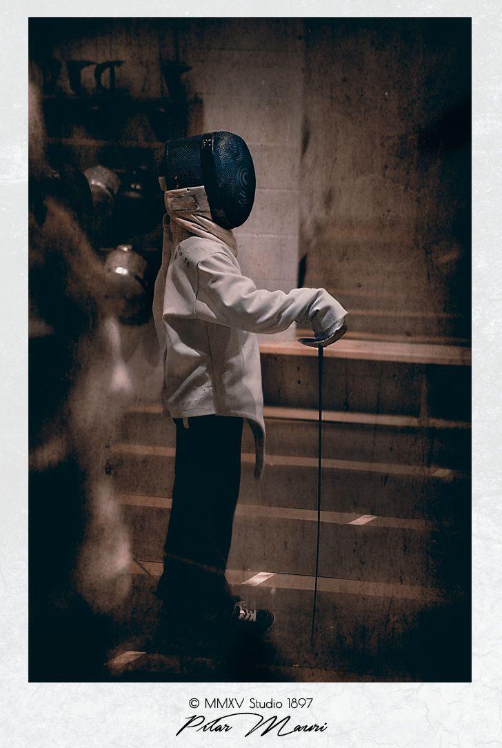 .Portrait Photography & Set Design by Pilar Mauri studio1897.co.uk #photography #setdesign #portrait #kids #fencing