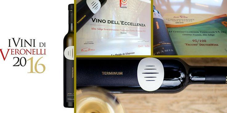 Quest'anno, il Terminum 2012 è il #vino altoatesino più premiato dalle guide italiane. Nussbaumer, Unterebner e Stoan 2014, che riposano ancora nelle bottiglie, saranno degustati dagli esperti delle guide solamente il prossimo anno. #lookingforwardto vintage 2014