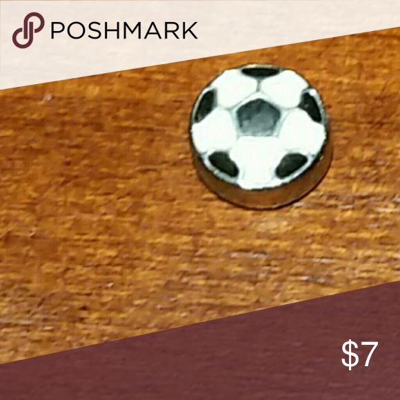 Origami owl charm Soccer ball, great for soccer moms origami owl  Jewelry