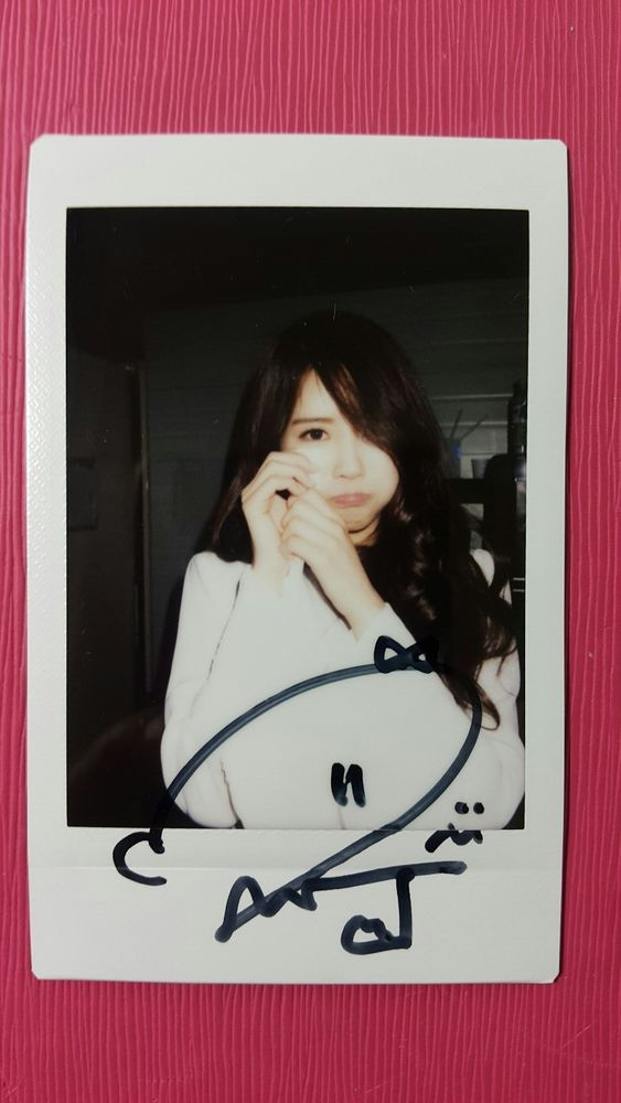 LOVELYZ MIJOO Official Limited Polaroid A NEW TRILOGY 2nd Album GRAVITY 미주