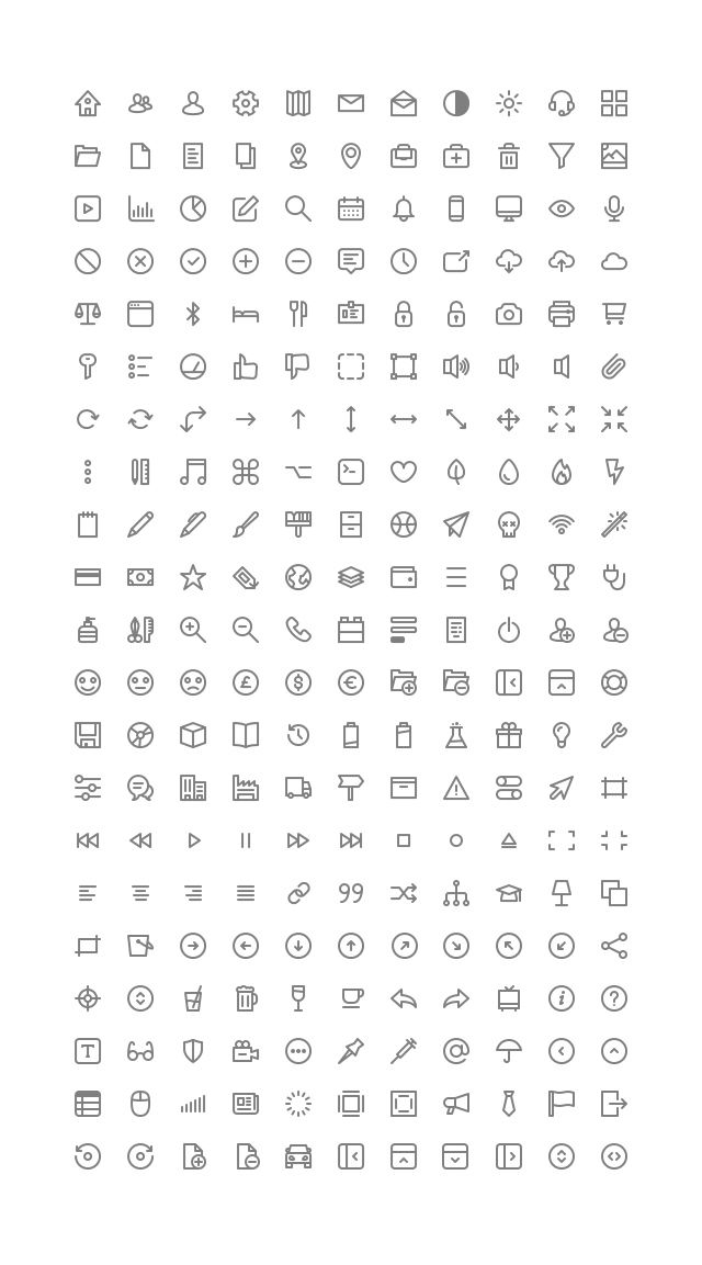 231 Micons, #AI, #Free, #Graphic #Design, #Icon, #Outline, #Resource, #SVG, #Vector
