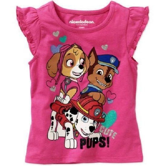 Girls Nickelodeon Paw Patrol Shirt Tank Size 4T New w/ Tags!!! Spring/Summer!! #Nickelodeon #DressyEverydayHoliday