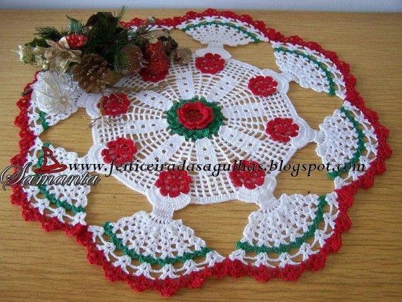Free Crochet Pattern Christmas Doily : 33 best images about Crochet Christmas Doilies on ...