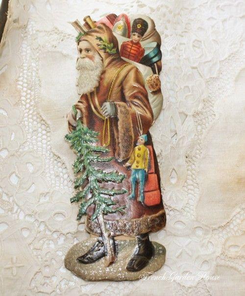Victorian Father Christmas Decorations: 17 Best Images About Saint Nicholas On Pinterest