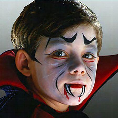 Maquillaje infantil de vampiro para Halloween - Especial Halloween ...