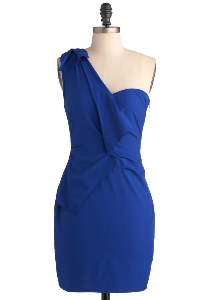 Swift and Azure Dress   Mod Retro Vintage Dresses   ModCloth.com