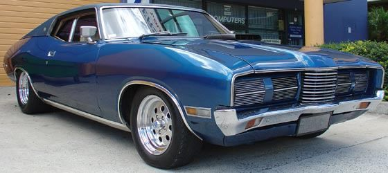 1973 Australian Falcon Landau Coupe