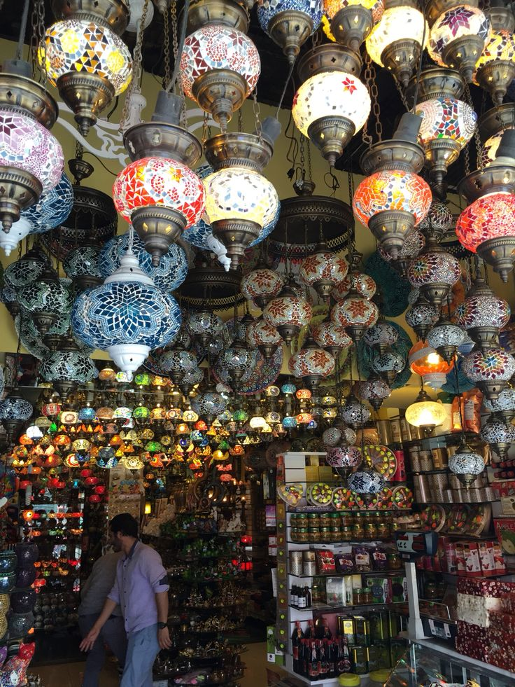 #turkey #vacations #destinations #colourful #lamps