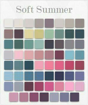 Typ kolorystyczny lato - ottAK Studio