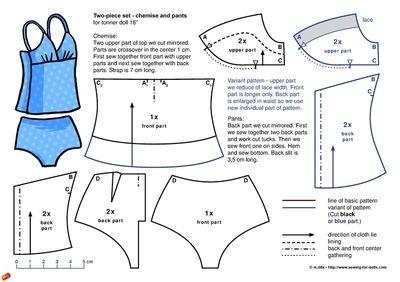 ropa interior o de baño
