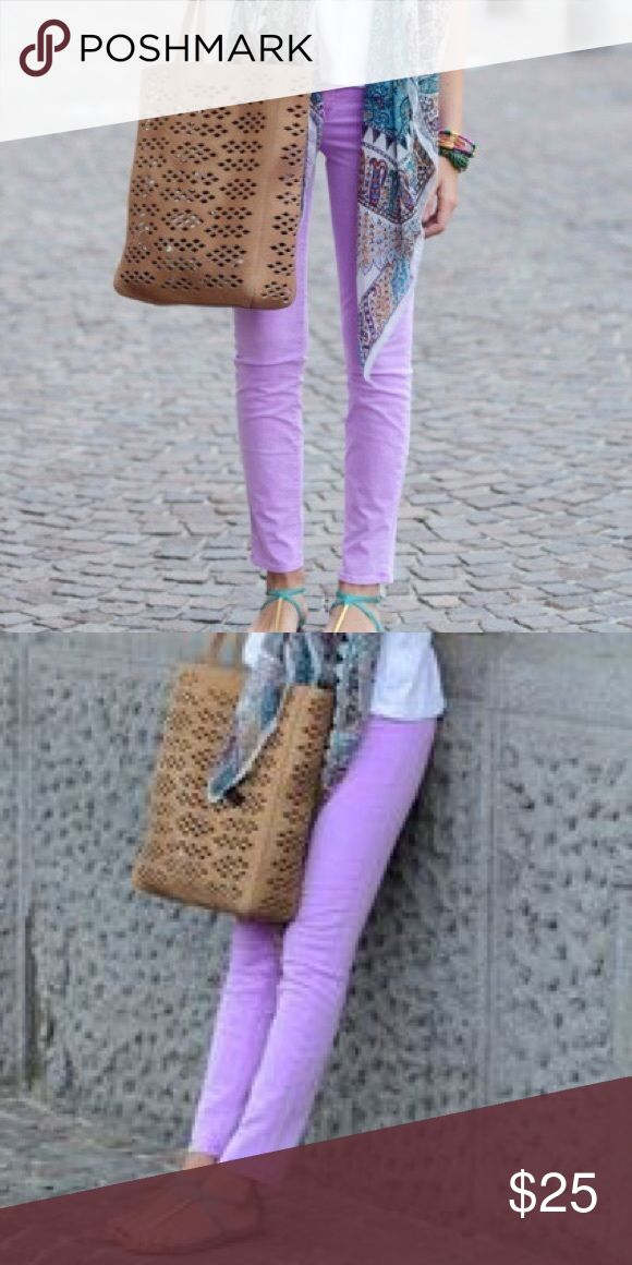 Kate Spade Broome street lilac/lavender jeans More pictures coming soon! Kate spade ♠️ broome street lilac jeans in excellent condition. Size 29 but run small. Perfect for summer! The first four pictures represent the color most accurately, the last photo was taken with indoor lighting. kate spade Jeans Ankle & Cropped