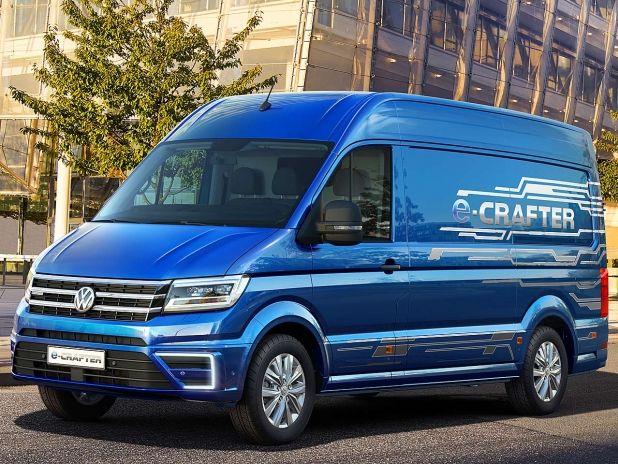 Dieser Crafter transportiert emissionsfrei! #vw #crafter #elektroauto #iaa #nutzfahrzeuge #2016 #studie #elektroantrieb #öko
