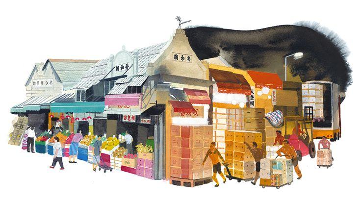 【搵食地圖】轉數快殺退大集團 百年果欄生存之道|HK Appledaily Supplement