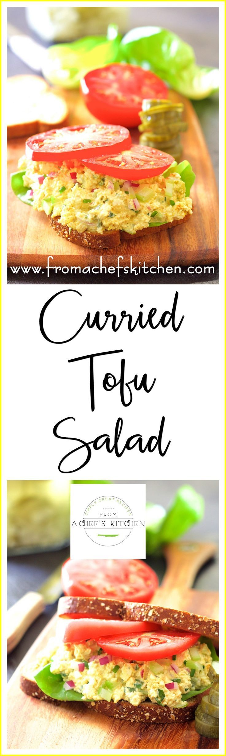 Wondering what to pack for lunch this week? This protein-packed tofu salad is…