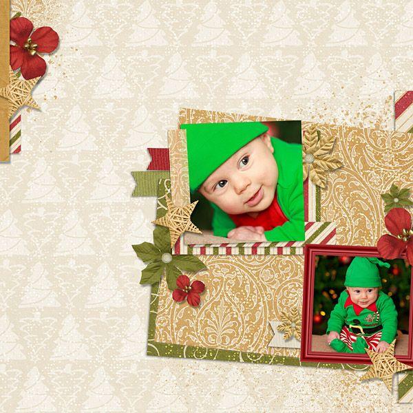 First Christmas - Little Ones - Gallery - Scrap Girls Digital Scrapbooking Forum