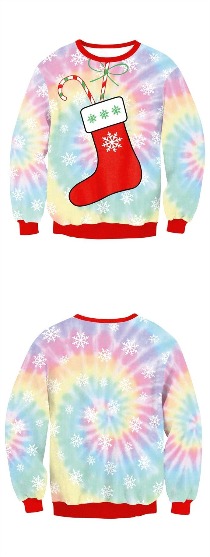 cute Christmas sweaters for women's, winter fashion sweatshirts for christmas party.