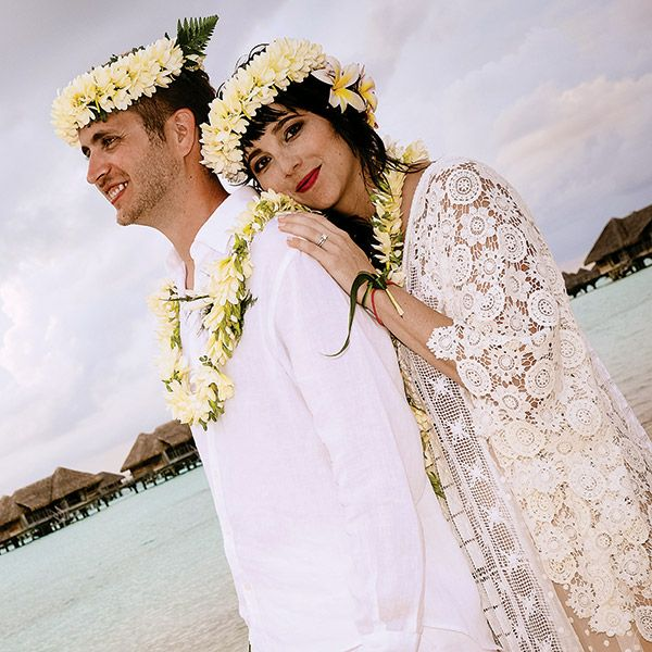 @TravelAge West Magazine's SkyeMarning @Joan Jetsetter ! Such a beautiful Destination Wedding in Tahiti, Congratulations!