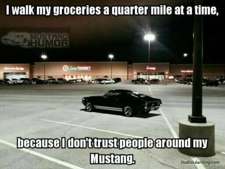 Mustang parking