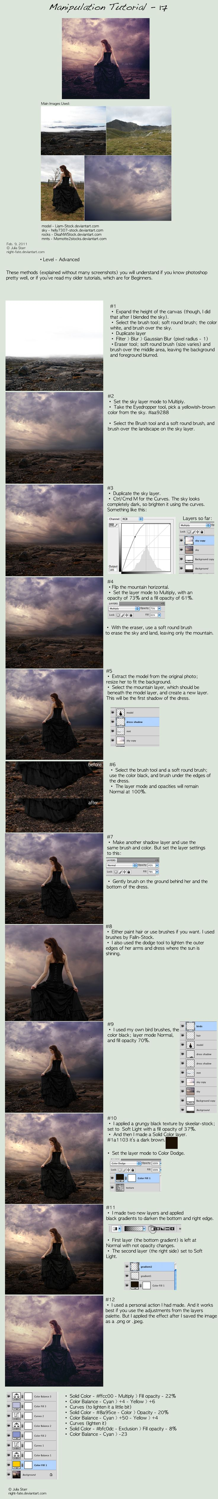 deviantART: More Like photo edit tutorial - 6 by `night-fate