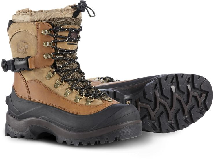 The Sorel Conquest winter boots were designed to dominate cold, snowy winter temperatures down to -60°F. #REIGifts