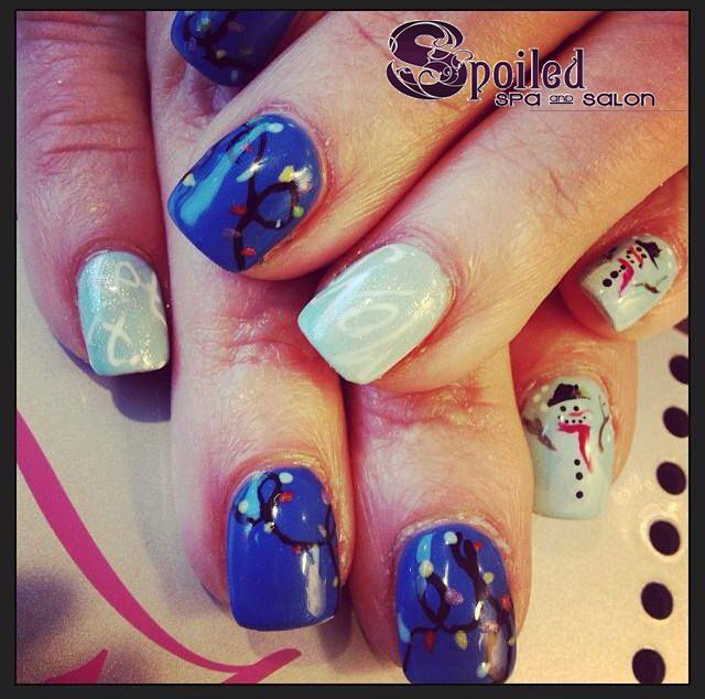 Spa and Salon in Vancouver, WA. #nails #manicure #christmas #