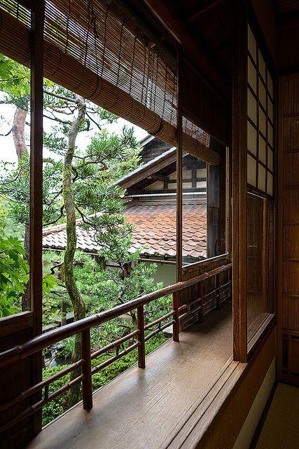 Nomura Samurai House in Kanazawa, Japan - known for it's small but lovely garden - photo by Bernard Languillier, via Flickr