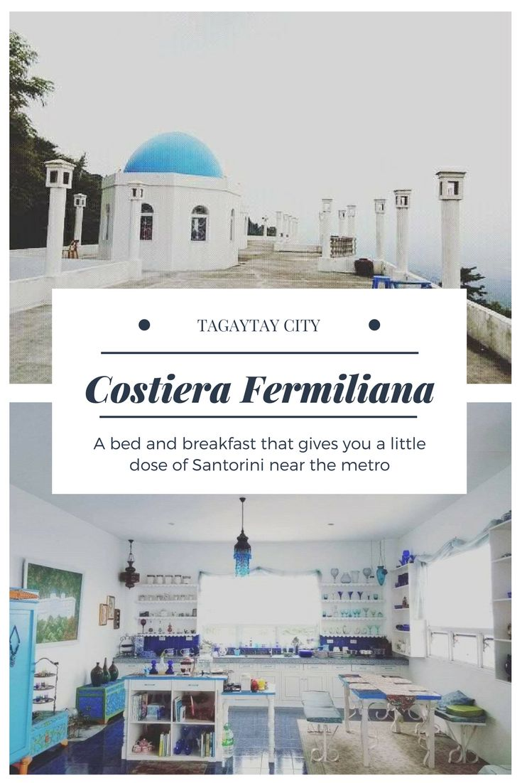 Waking up to cold mornings like this felt like a dream. Find out more of our stay in this charming Tagaytay destination, a Greek-inspired bed and breakfast called Costiera Fermiliana. Travel the Philippines! #CostieraFermiliana #TagaytayStaycation #Tagaytay