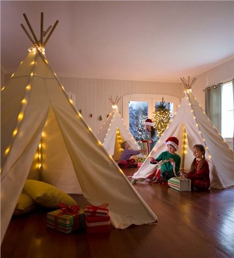 Best 25 Teepees Ideas On Pinterest: Cluster Of Teepees For Sleepover