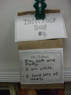 Teaching 1st graders about making inferences