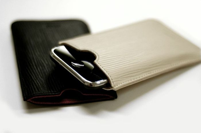Leather iPhone Pouch | Uncovet