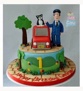 Postman Pat Edible Cake Toppers