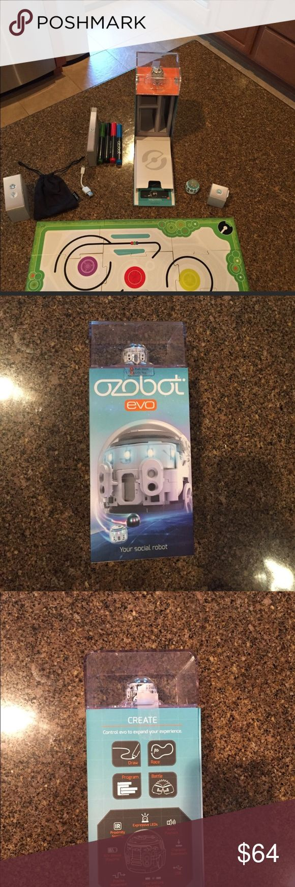 Ozobot programmable robot New ...we have to them available.. so much fun, comes with markers you can even use your own to draw any Road or design you want on a piece of paper and the little guy will follow it you can also program them.. put two together they fight and much much more.. PINK Victoria's Secret Other