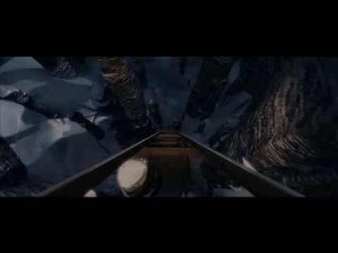 POLAR EXPRESS-Trailer--A disillusioned little boy, has the adventure of a lifetime one fateful Christmas Eve. Clad in his pajamas, he climbs aboard a magic train to the North Pole. Among myriad jaw-dropping moments, the train plummets brakeless through crystalline mountains. Going off the rails, skidding violently across a frozen lake, the train arrives at the North Pole.