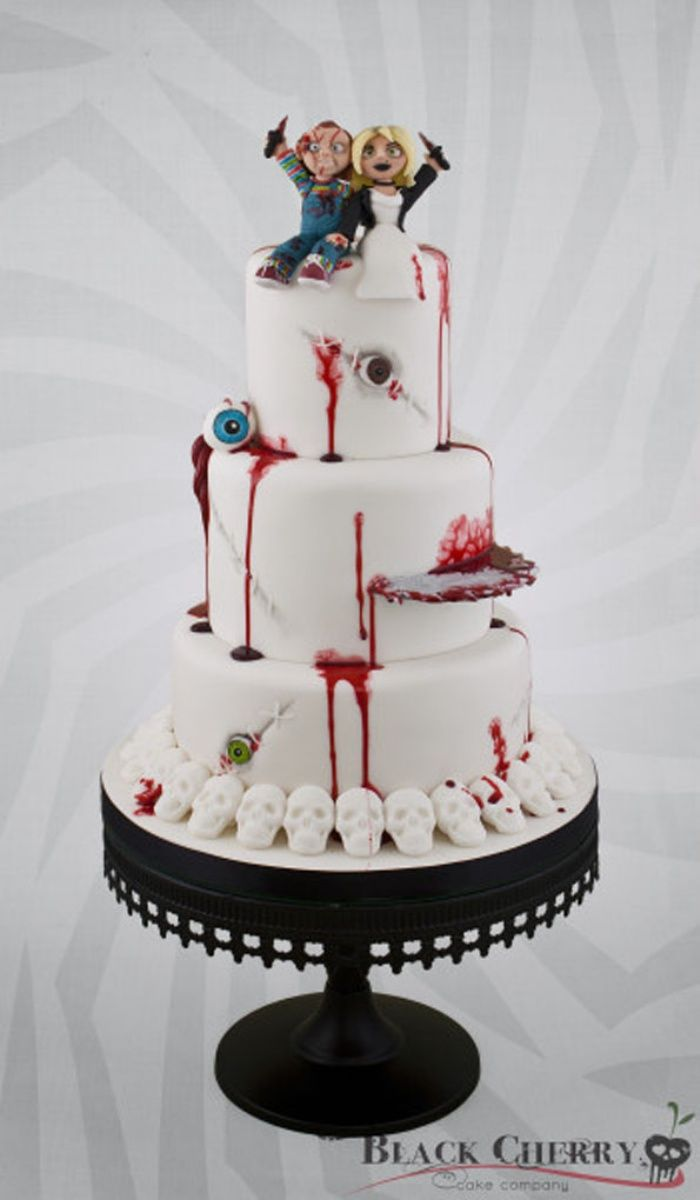 Til Death Do Us Part: Bride of Chucky Wedding Cake