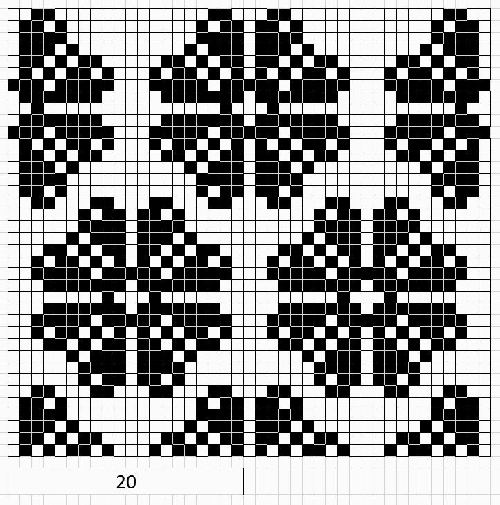 Mustrilaegas: А. А. Kirjatud kudumid / узорчатые вязаные