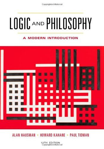 Logic and Philosophy: A Modern Introduction by Alan Hausman