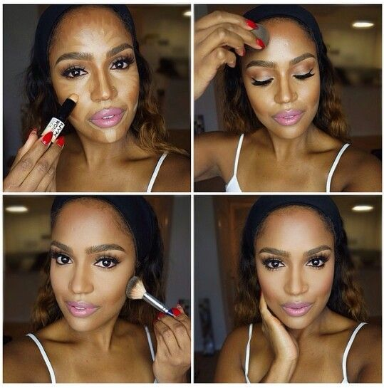 22 best Contouring Dark Skin images on Pinterest