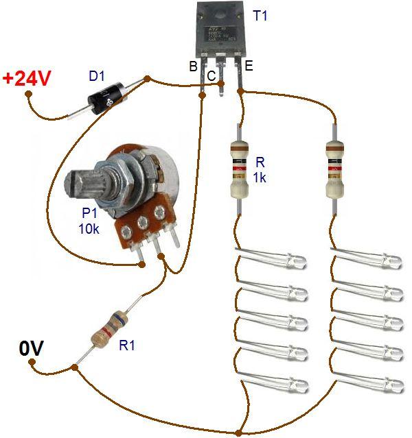 plaque led pour camion et variateur 2