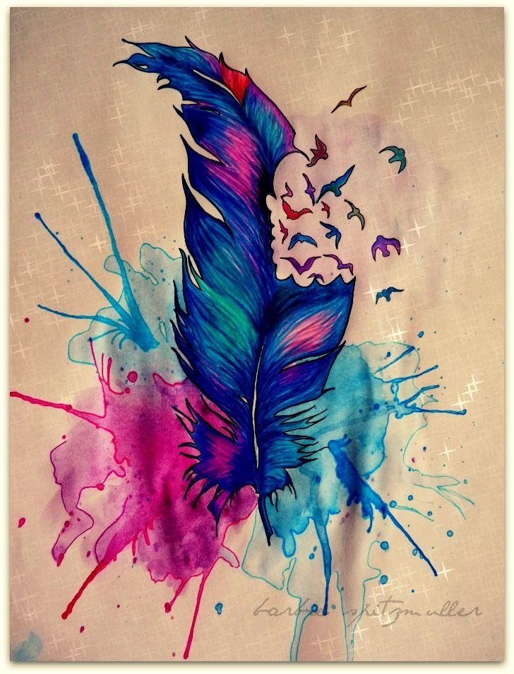 67 best watercolors and inks images on pinterest water for Cool watercolour