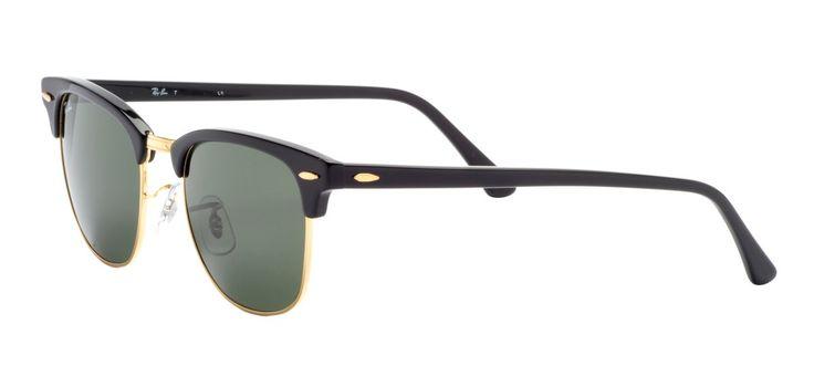 Ray-Ban Clubmaster Preto G15 - Óculos Ray-Ban Clubmaster com Desconto