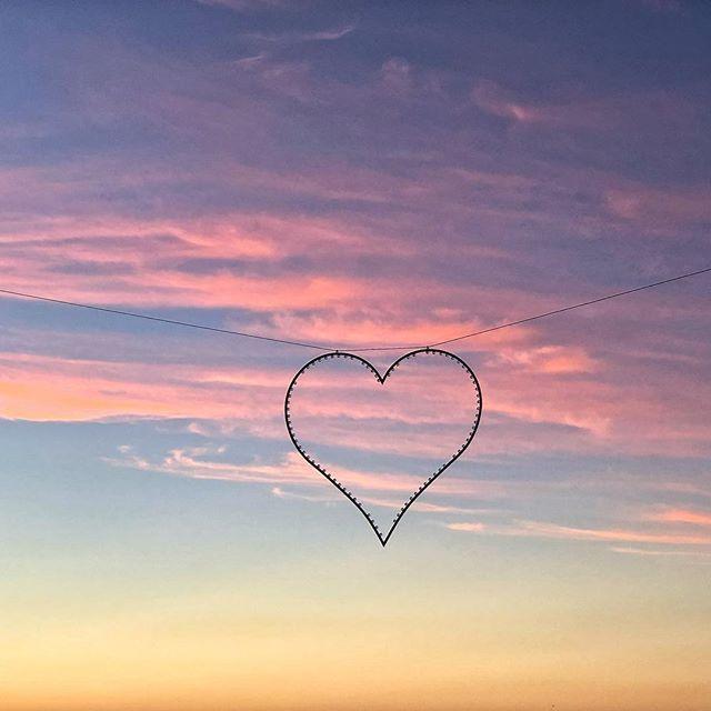 Love love love #love #hearts #sunset #campsbay #travel #explore #skyfire #colour #photooftheday #iphone8plus #gorgeous #sky