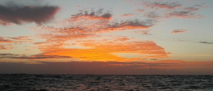 Sunrise from Puerto Calero, Canaries Islands, Spain