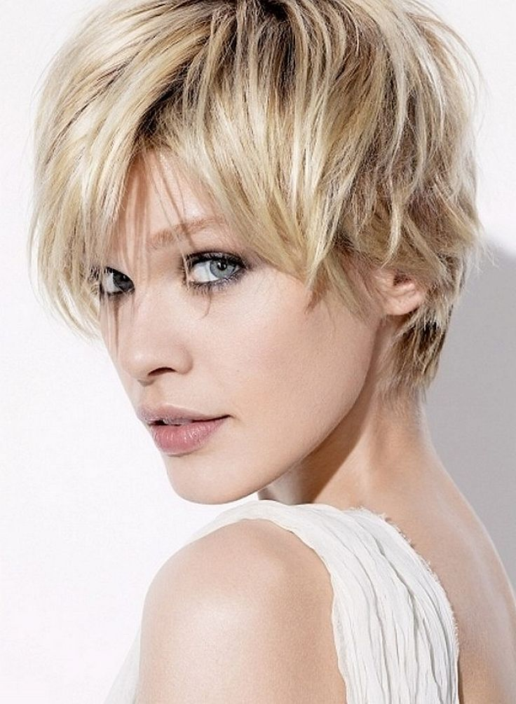 Short Spiky Messy Hairstyles For Women