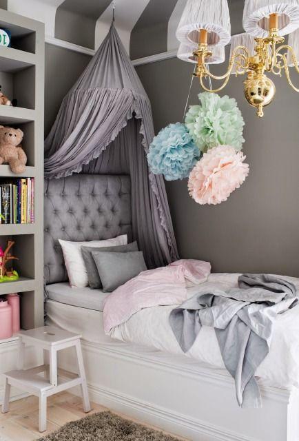 sovrum inspiration klassisk gra barnrum